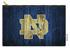 Notre Dame Barn Door Carry-all Pouch by Dan Sproul