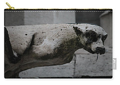 Notre Dame Bat Gargoyle Carry-all Pouch by Christopher Kirby