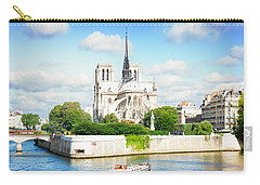 Notre Dame Cathedral, Paris France Carry-all Pouch