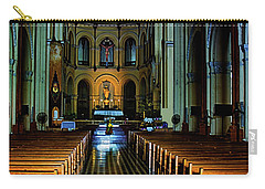 Carry-all Pouch featuring the photograph Notre Dame Cathedral Saigon by Joseph Hollingsworth
