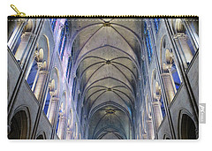 Notre Dame De Paris - A View From The Floor Carry-all Pouch