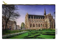 Notre Dame Du Sablon In Brussels  Carry-all Pouch by Carol Japp