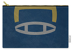 Notre Dame Fighting Irish Vintage Football Art Carry-all Pouch