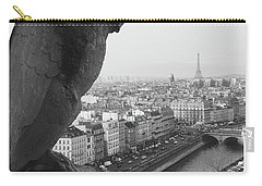 Carry-all Pouch featuring the photograph Notre Dame Gargoyle by Victoria Lakes