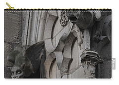 Notre Dame Grotesques Carry-all Pouch by Christopher Kirby