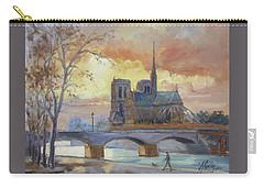 Notre Dame - Sunset, Paris Carry-all Pouch