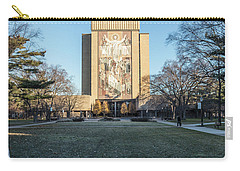 Notre Dame Touchdown Jesus  Carry-all Pouch