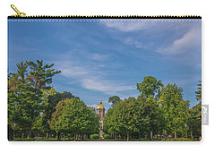 Notre Dame University 6 Carry-all Pouch by David Haskett