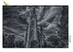 Notre Dame University Church Carry-all Pouch by David Haskett
