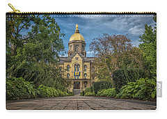 Notre Dame University Q1 Carry-all Pouch by David Haskett