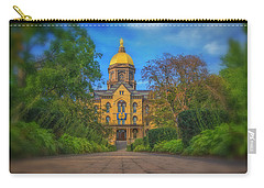 Notre Dame University Q2 Carry-all Pouch by David Haskett