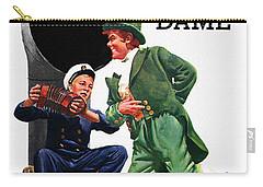 Notre Dame V Navy 1954 Vintage Program Carry-all Pouch