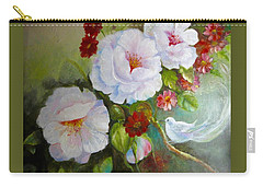 Noubliable  Carry-all Pouch by Patricia Schneider Mitchell