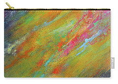 Nova Brillante. Abstract Acrylic Painting. Carry-all Pouch