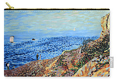 November Day At Point Lobos San Francisco Carry-all Pouch