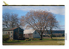 Carry-all Pouch featuring the photograph November by Elfriede Fulda