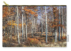 November Forest Carry-all Pouch by Betsy Zimmerli