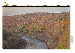 November Golden Hour At Hawk's Nest Carry-all Pouch