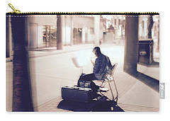 Carry-all Pouch featuring the photograph Night Music by Suzanne Oesterling