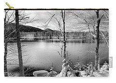 November On West Lake Carry-all Pouch by David Patterson