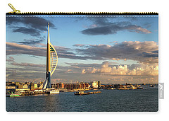November - Portsmouth Harbour Carry-all Pouch by Shirley Mitchell