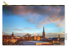 Novi Sad Roofs Lit By The Setting Sun Carry-all Pouch by Jivko Nakev