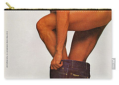 Carry-all Pouch featuring the digital art Now Everybody Can Get Into Studio 54 by Reinvintaged
