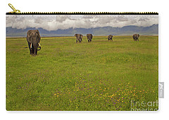 Nrongoro Crater-signed-#0141 Carry-all Pouch