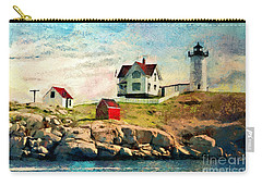 Nubble Light - Painted Carry-all Pouch