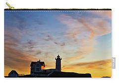 Nubble Lighthouse Sunrise 3 Carry-all Pouch