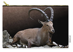 Nubian Ibex Portrait Carry-all Pouch