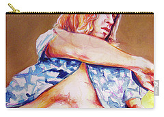 Nude Boy With Golden Hair  Carry-all Pouch