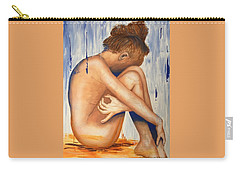 Nude In The Rain Carry-all Pouch