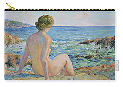 Nude On The Coast Monaco Carry-all Pouch
