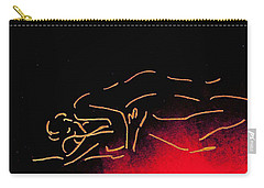 Nude Sleeping Couple Carry-all Pouch