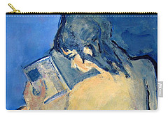 Nude With Nose In Book Carry-all Pouch