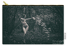Nude Woman With Lots Of Bubbles Carry-all Pouch