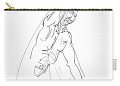 Nude_male_drawing_25 Carry-all Pouch