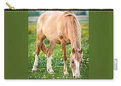 Carry-all Pouch featuring the photograph Number 403 by Melinda Ledsome