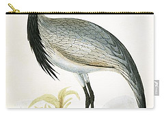 Numidian Crane Carry-all Pouch by English School