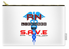 Nurses Licensed To Save Carry-all Pouch