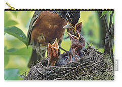 Nurturing The Little Ones Carry-all Pouch