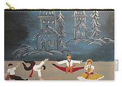 Nutcrackers Dance Of Russian Cossacks Carry-all Pouch