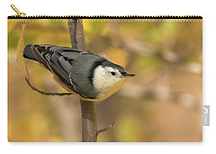 Nuthatch In Fall Carry-all Pouch