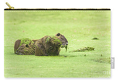 Nutria In A Pesto Sauce Carry-all Pouch by Robert Frederick
