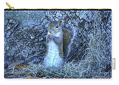 Carry-all Pouch featuring the photograph Nuts Anyone by Deborah Benoit