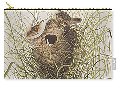 Nuttall's Lesser-marsh Wren  Carry-all Pouch