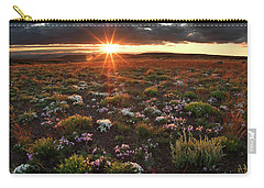 Nuttalls Linanthastrum Carry-all Pouch by Leland D Howard