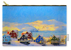 Nuuk, Greenland Carry-all Pouch