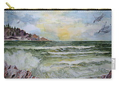 Nw Coast At Sunset Carry-all Pouch